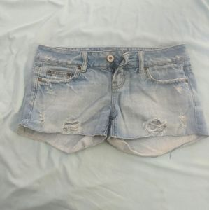 American Eagle jean shorts size 0